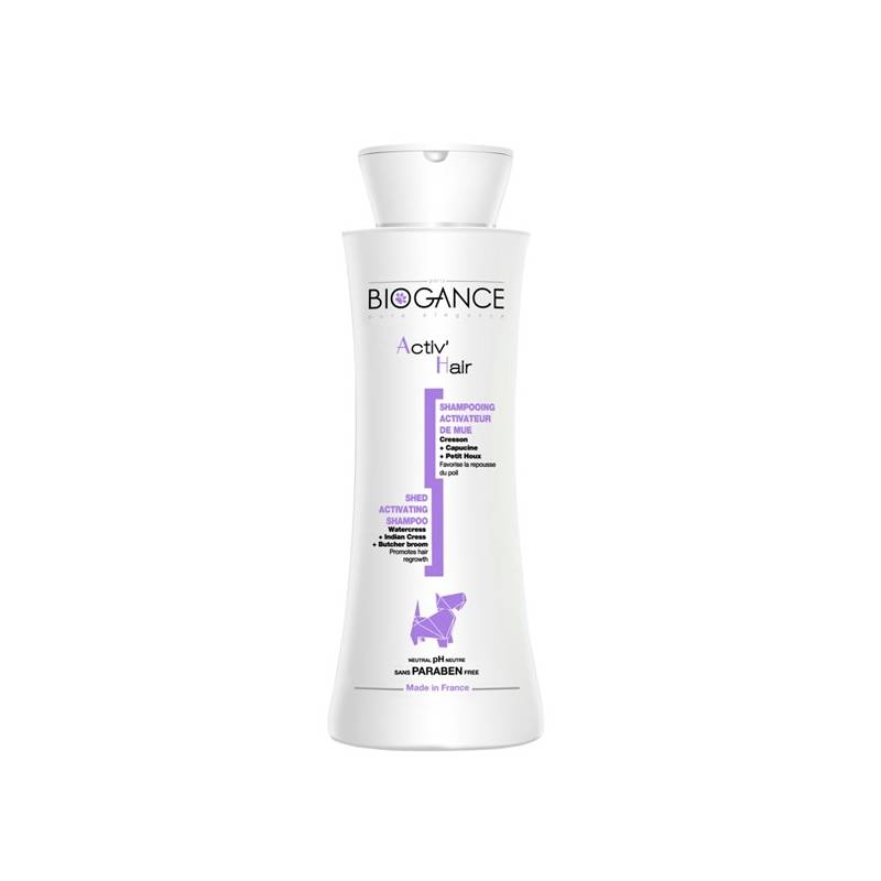 Šampón Biogance Activ´hair - pro obnovu srsti 250 ml