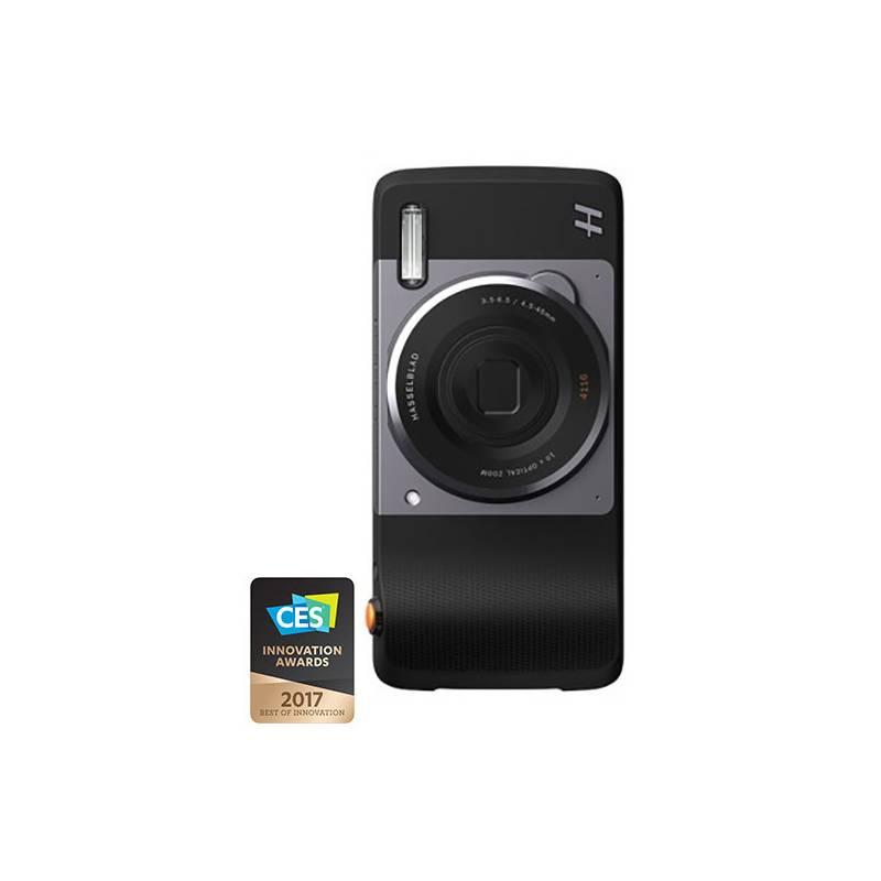 Kryt na mobil Motorola Mods Fotoaparát Hasselblad True Zoom (ASMRCPTBLKEU) čierny