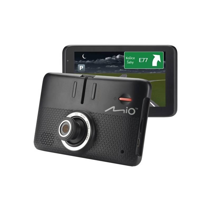 Navigačný systém GPS Mio MiVue Drive 55LM s kamerou, mapy EU (44) Lifetime (5262N5380032) čierna + Doprava zadarmo