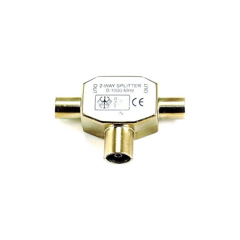 Rozbočovač AQ anténní, 1x vstup - 2x výstup (xaqcva311)