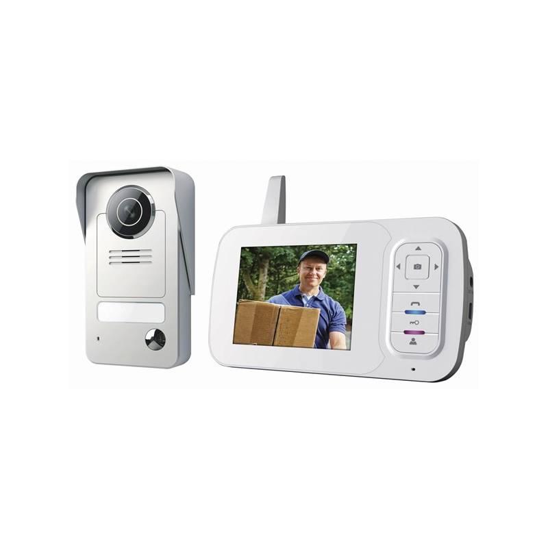 """Dverný videotelefón Smartwares intercom system s 3,5"""" obrazovkou + Doprava zadarmo"""
