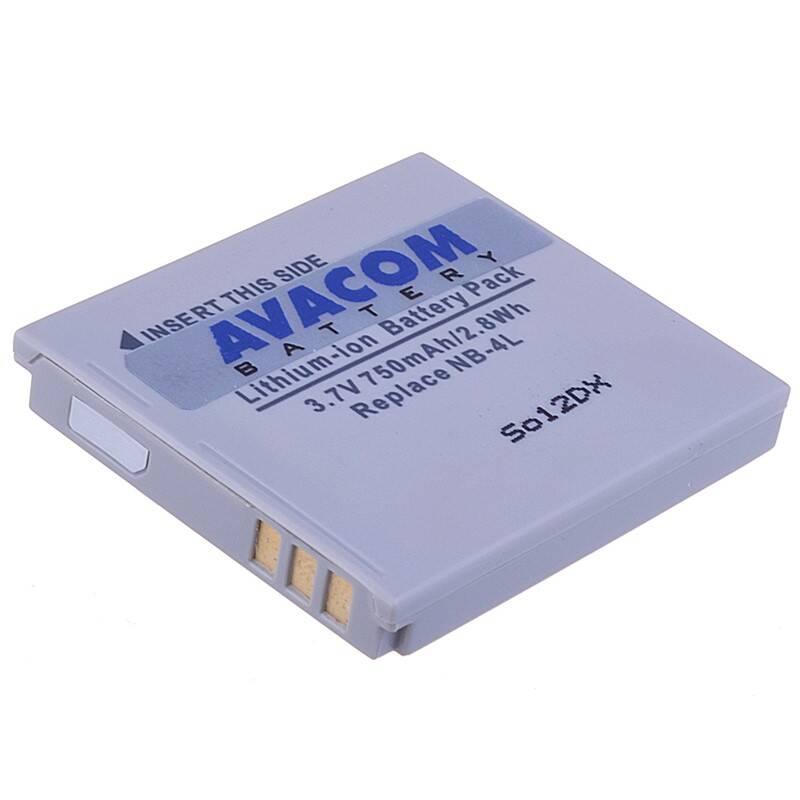 Batéria Avacom Canon NB-4L Li-Ion 3,7V 750mAh (DICA-NB4L-532)
