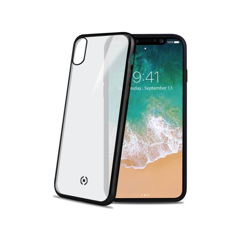 Kryt na mobil Celly Laser pro Apple iPhone X (LASERMATT900BK) čierny