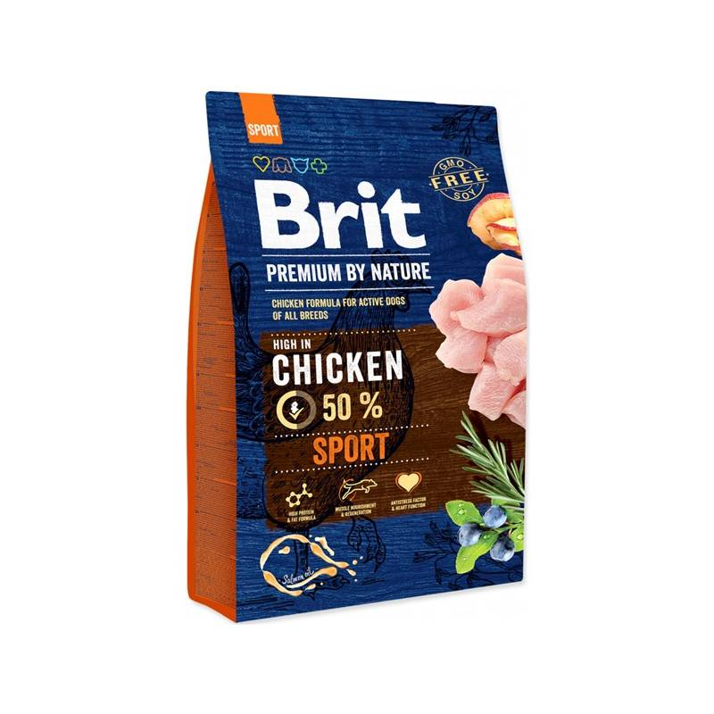 Granule Brit Premium Dog by Nature Sport 3 kg