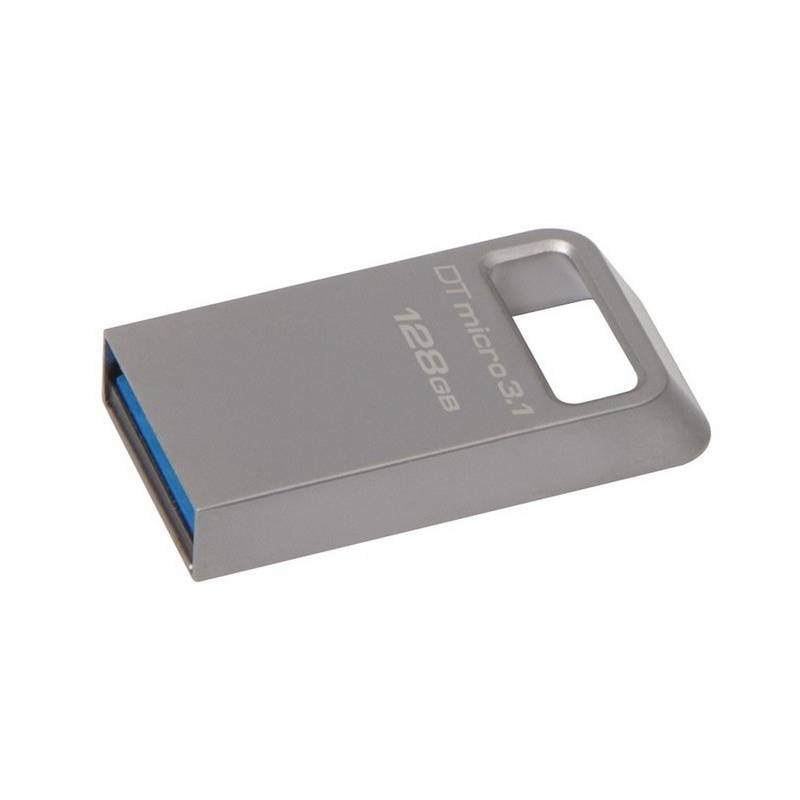 USB Flash Kingston DataTraveler Micro 3.1 128GB (DTMC3/128GB) kovový