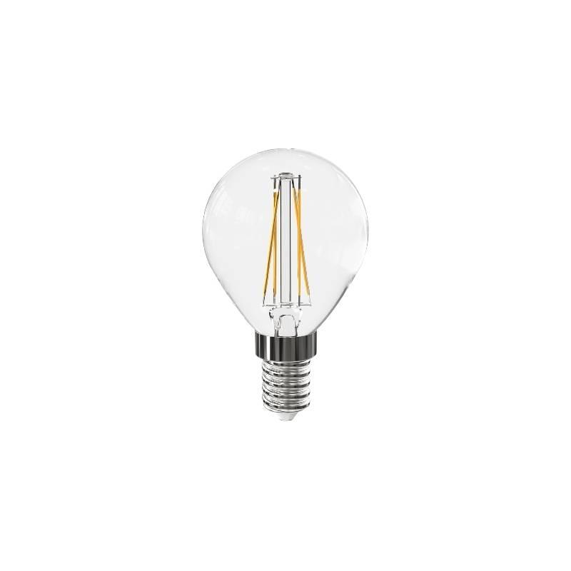 LED žiarovka McLED klasik, 4W, E14, teplá bílá