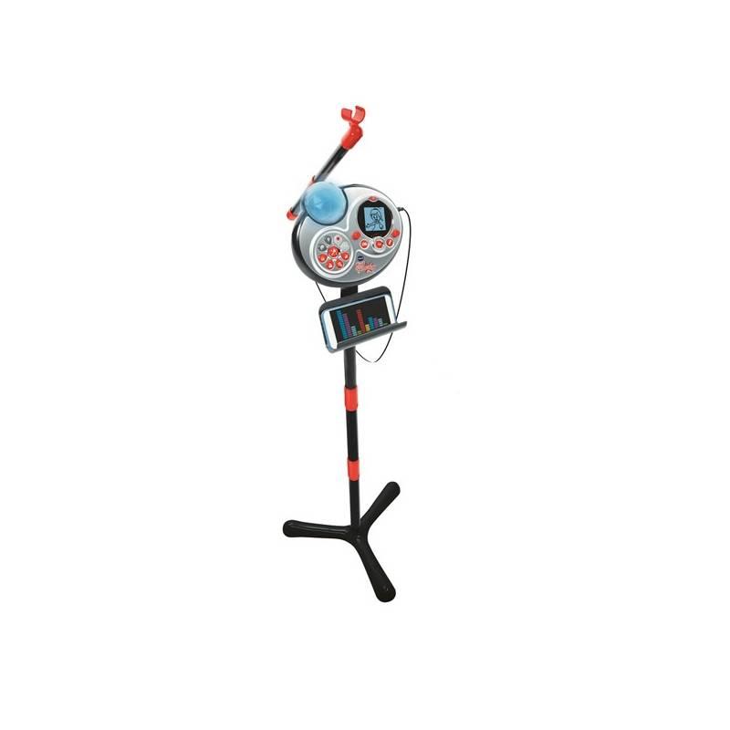 Mikrofon Vtech Kidi Super Star, CZ - černá
