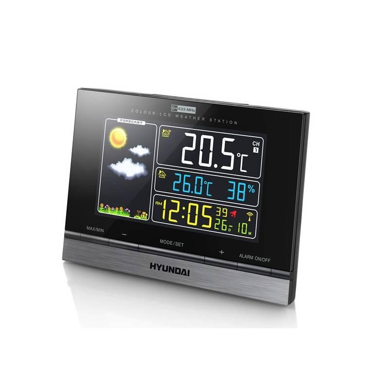 Meteorologická stanica Hyundai WS 2303 čierna