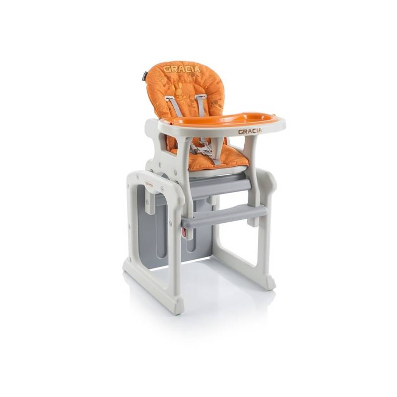 Jedálenská stolička Babypoint Gracia oranžová + Doprava zadarmo