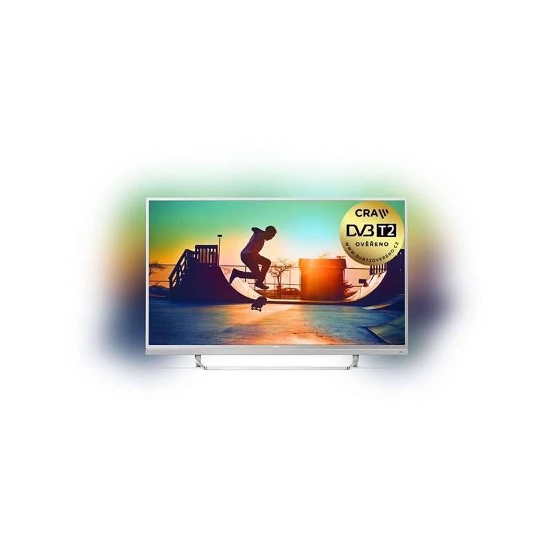 Televízor Philips 49PUS6482 strieborná + Doprava zadarmo