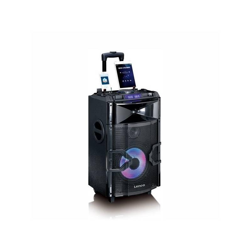 Párty reproduktor Lenco PMX-250 (lpmx250) čierne + Doprava zadarmo