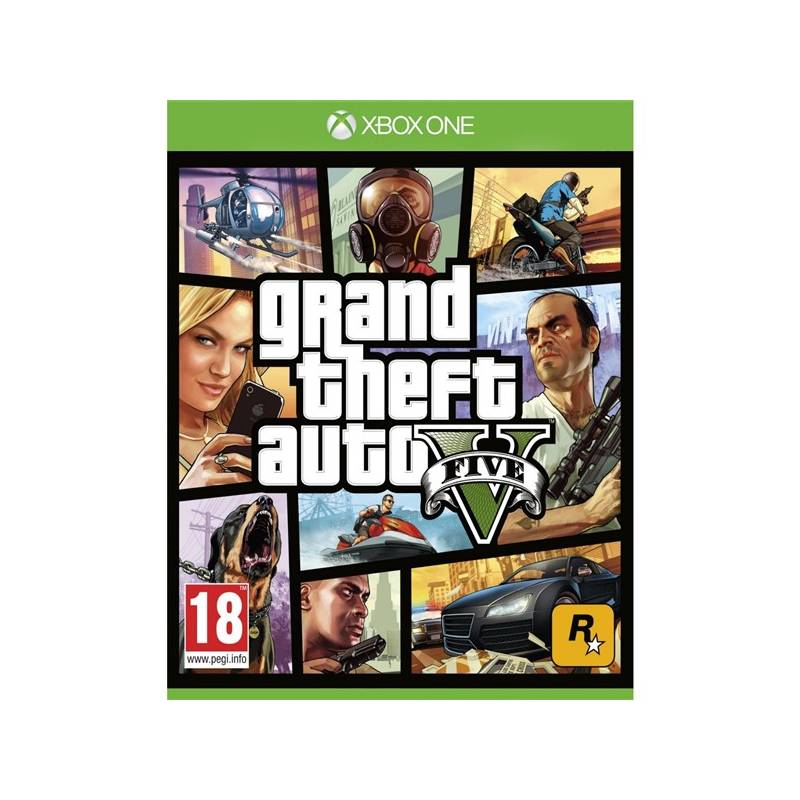 Hra RockStar Xbox One Grand Theft Auto V (427709)