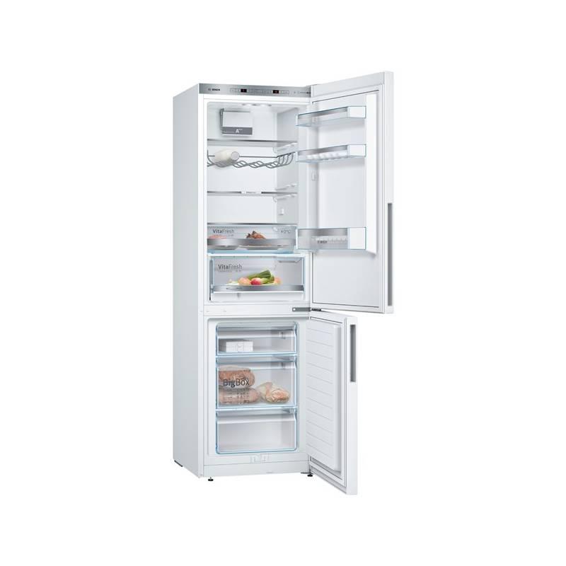 Kombinácia chladničky s mrazničkou Bosch KGE36VW4A biela + Doprava zadarmo