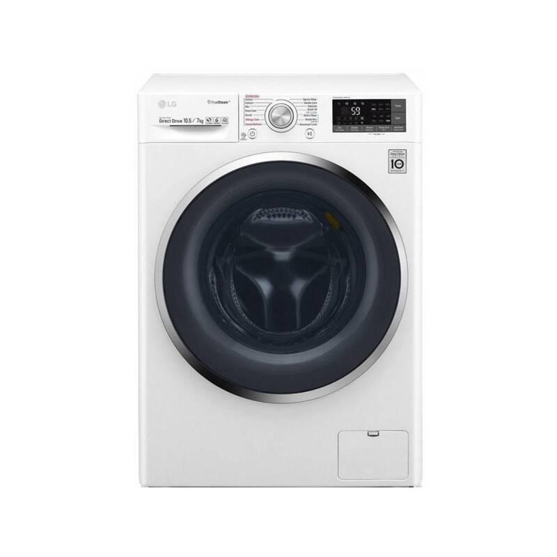 Automatická práčka so sušičkou LG F104J8JH2WD biela + Doprava zadarmo