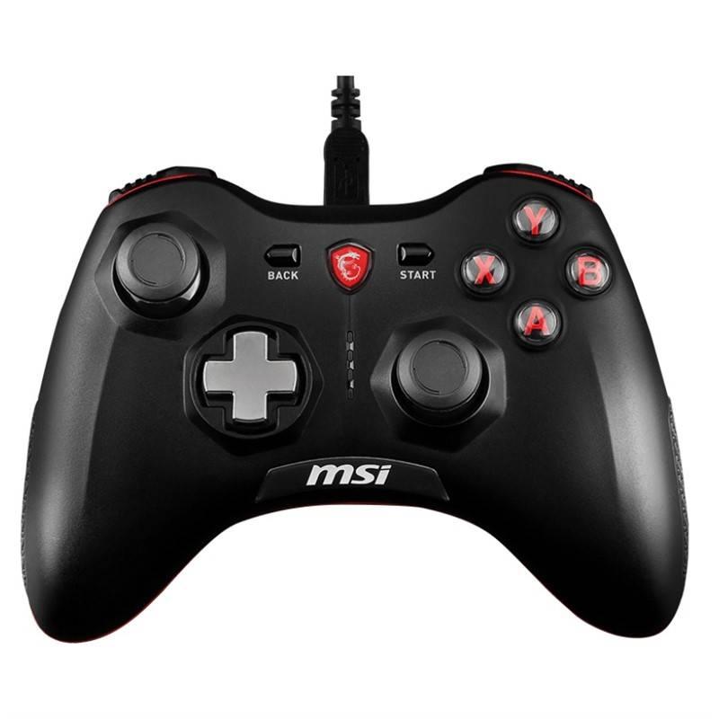 Gamepad MSI Force GC20, drátový, pro PC, PS3, Android (S10-0400010-EC4) černý