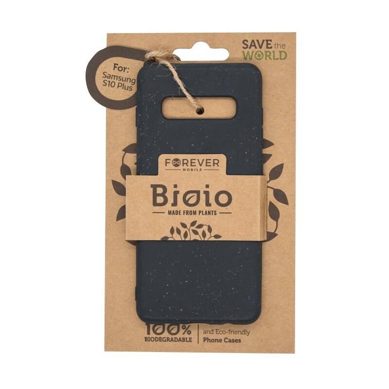 Kryt na mobil Forever Bioio na Samsung Galaxy S10+ (HOUSAS10PLBIOBK) čierny