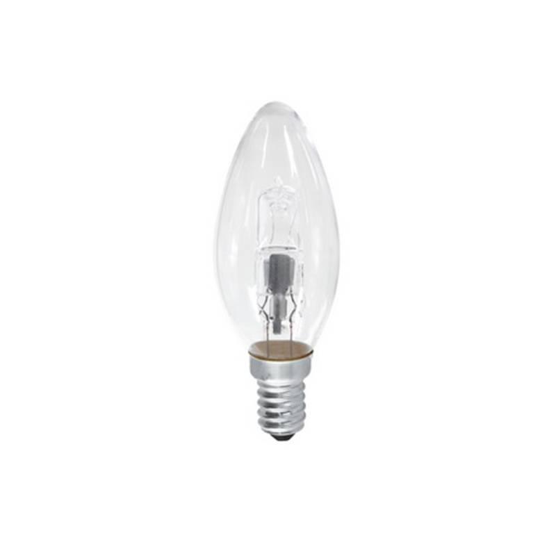 Halogénová žiarovka EMOS svíčka, 42W, E14, teplá bílá (ECCL42-B35E14)