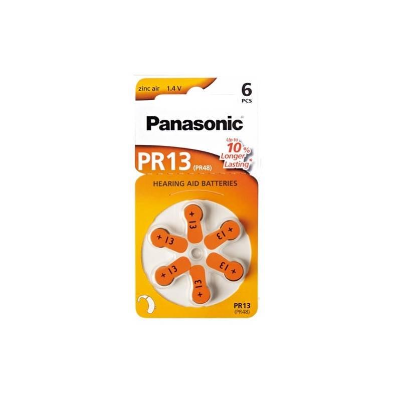 Batéria do načúvacích prístrojov Panasonic ZA13, blistr 6ks