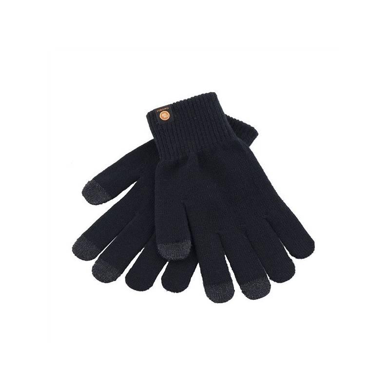 Rukavice GoGEN pro dotykové displeje velikost M (GOGRUKAVICEMB) černá barva