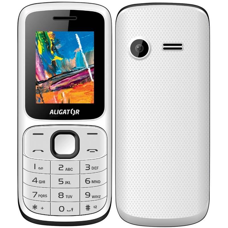 Mobilný telefón Aligator D210 Dual SIM (AD210WB) čierny