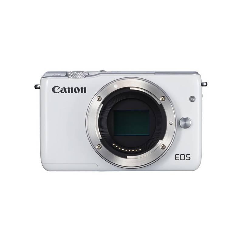 Digitálny fotoaparát Canon EOS M10 tělo biely + Doprava zadarmo