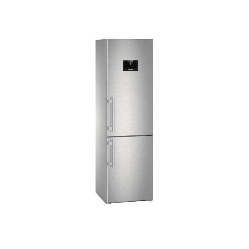 Kombinácia chladničky s mrazničkou Liebherr Premium CBNPes 4858 nerez + Doprava zadarmo
