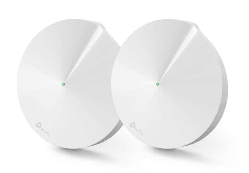 Kompletný Wi-Fi systém TP-Link Deco M9 Plus (2-Pack) + IP TV na 3 měsíce ZDARMA (Deco M9 Plus(2-pack)) biely + Extra zľava 3 % | kód 3HOR2026 + Doprava zadarmo