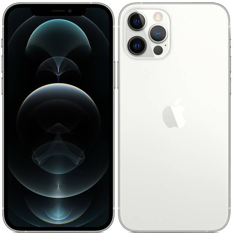Mobilný telefón Apple iPhone 12 Pro 128 GB - Silver (MGML3CN/A) + Doprava zadarmo
