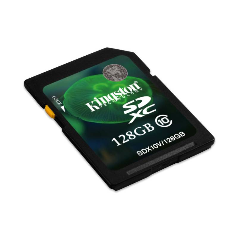 Pamäťová karta Kingston SDXC 128GB UHS-I U1 (30MB/s) (SDX10V/128GB)