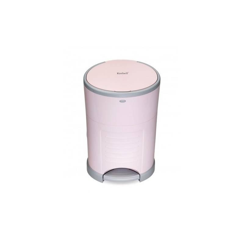 Kôš na plienky Korbell Pink