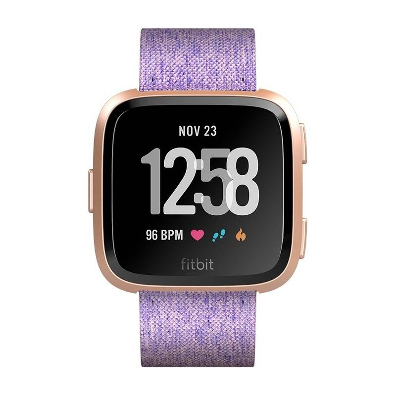Chytré hodinky Fitbit Versa (NFC) - Lavender Woven (FB505RGLV-EU)