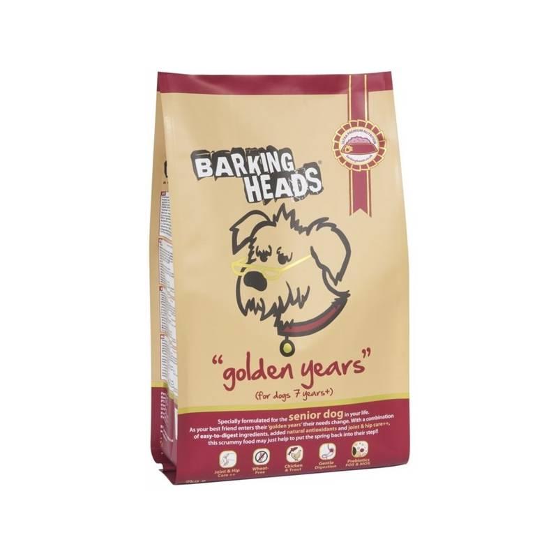Granule Barking Heads Golden Years 12 kg