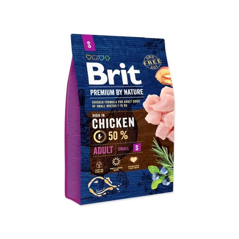 Granule Brit Premium Dog by Nature Adult S 3 kg