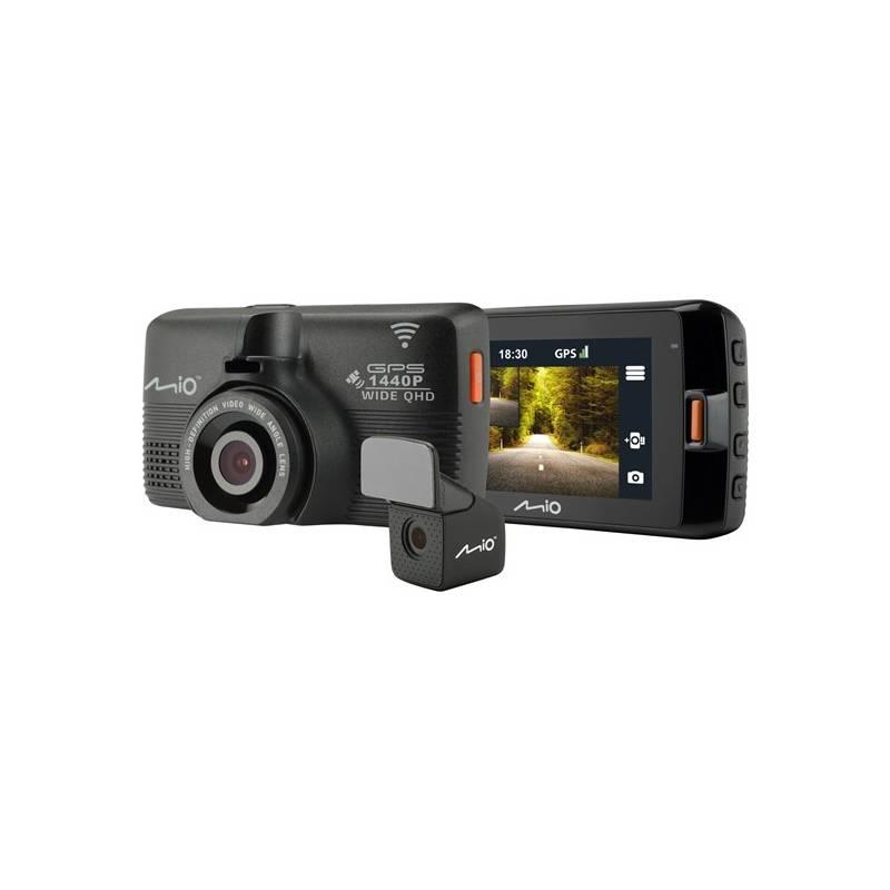 Autokamera Mio MiVue 752 WiFi DUAL (5415N5480013) čierna