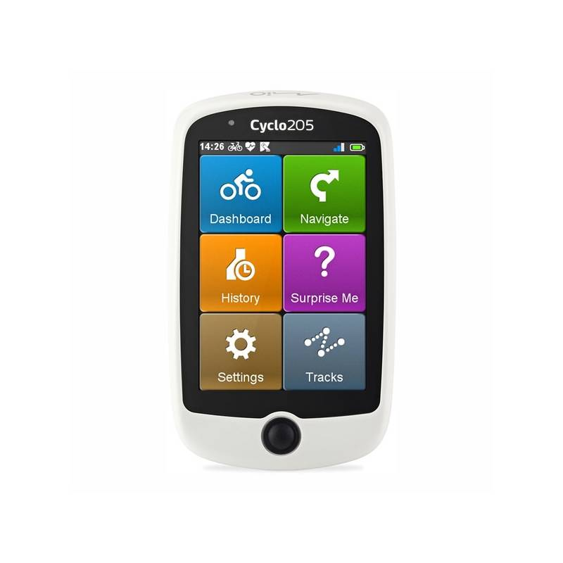 Navigačný systém GPS Mio Cyclo 205HC (5262N5060001) čierna/biela