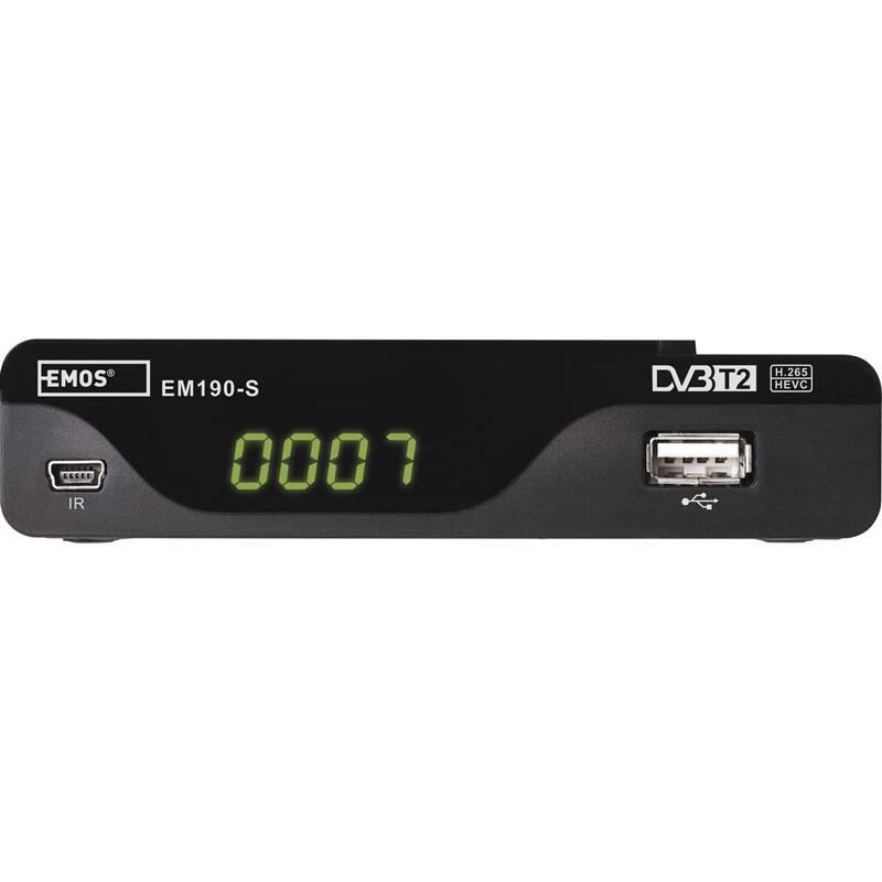 Set-top box EMOS EM190-S HD čierny