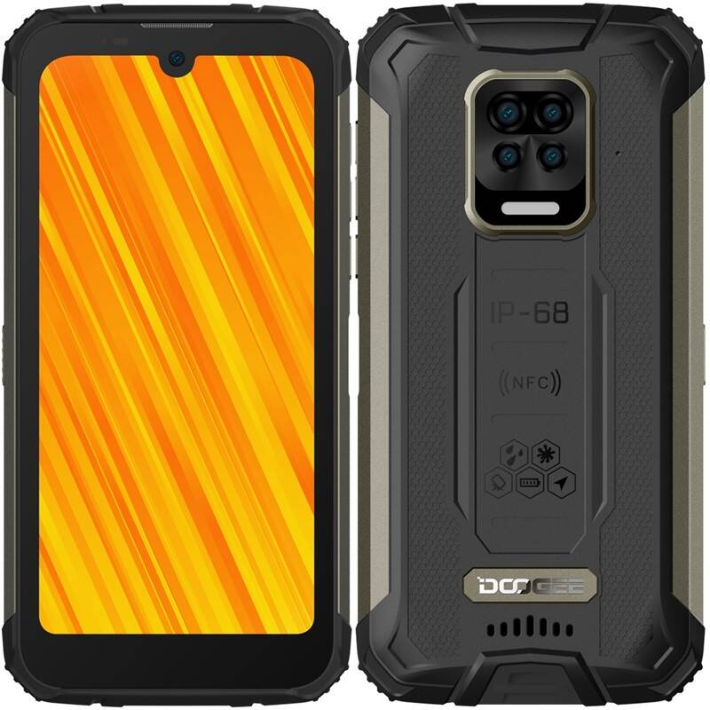 Mobilný telefón Doogee S59 PRO Dual SIM (DGE000609) čierny