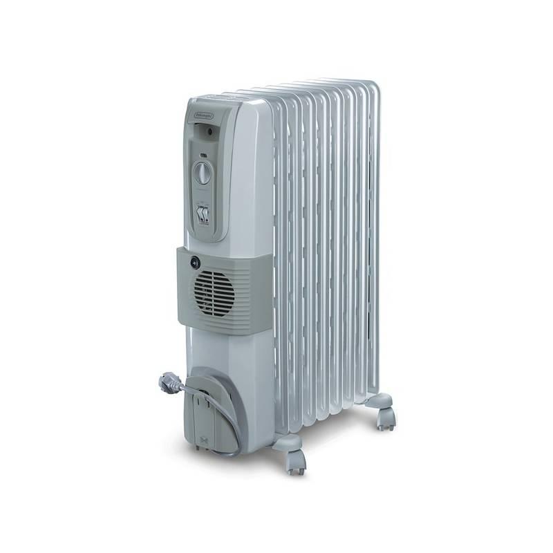 Olejový radiátor DeLonghi KH770925V biely