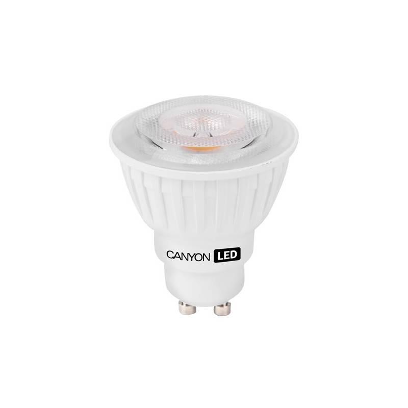 LED žiarovka Canyon bodová, 7,5W, GU10, teplá bílá