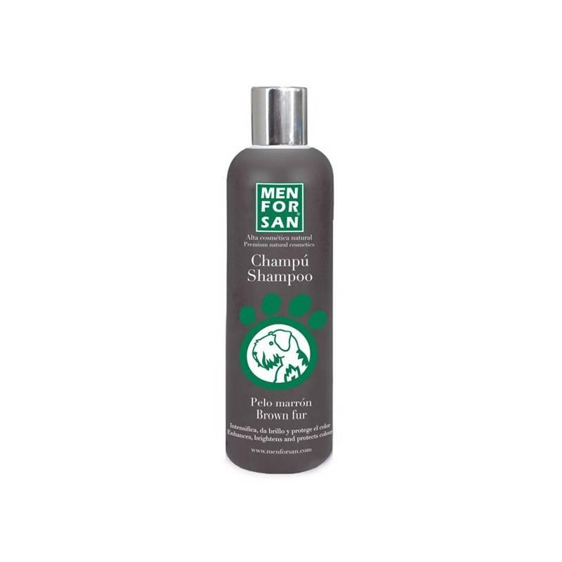 Šampón Menforsan zvýrazňujúci hnedú farbu 300 ml