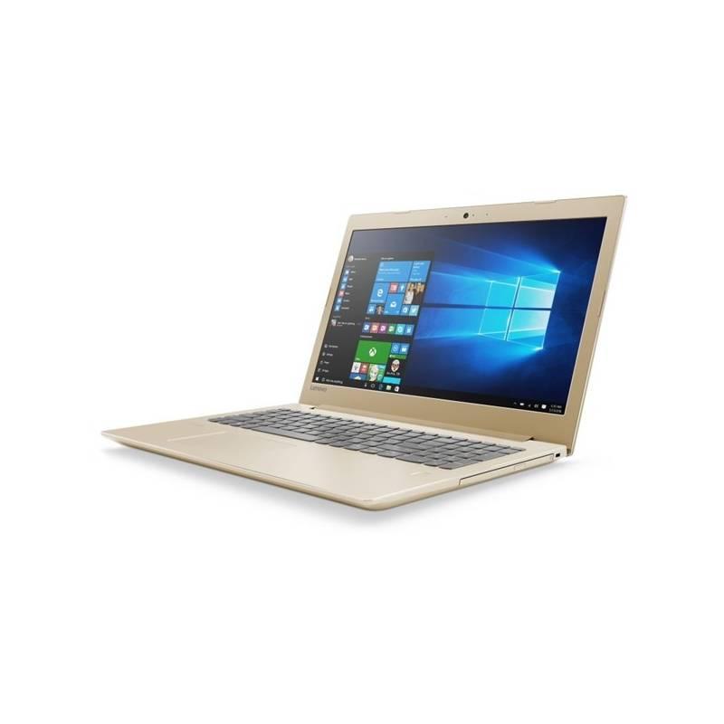 Notebook Lenovo IdeaPad 520-15IKBR (81BF00B3CK) zlatý + Doprava zadarmo