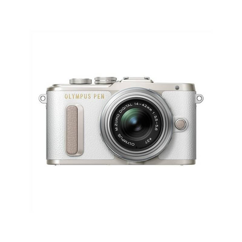 Digitálny fotoaparát Olympus PEN E-PL8 strieborný/biely + Doprava zadarmo