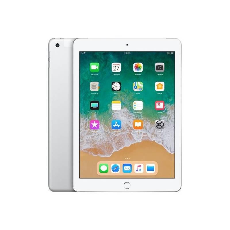 Tablet Apple iPad (2018) Wi-Fi + Cellular 128 GB - Silver (MR732FD/A) + Doprava zadarmo