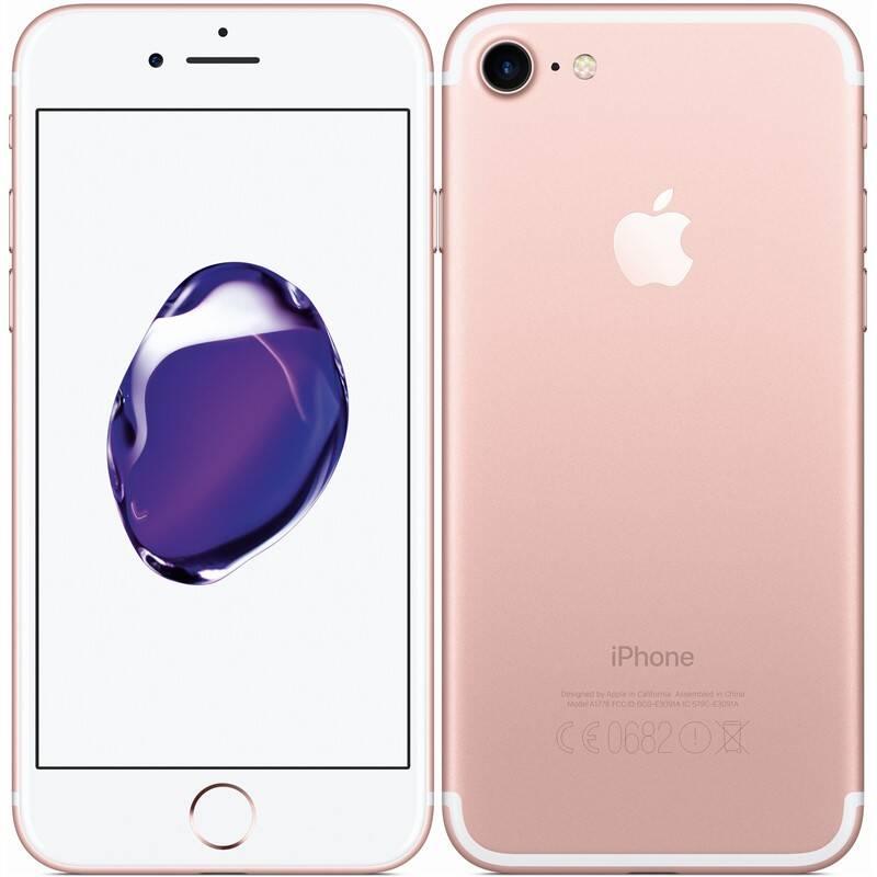 Mobilný telefón Apple iPhone 7 32 GB - Rose Gold (MN912CN/A)