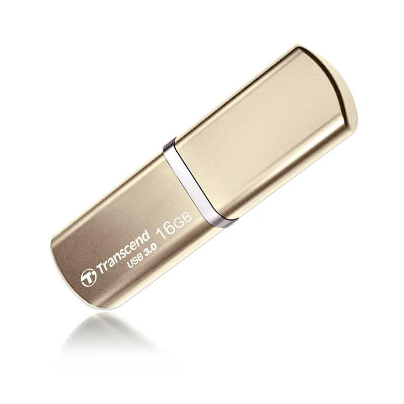 USB flash disk Transcend JetFlash 820G 16GB (TS16GJF820G) zlatý