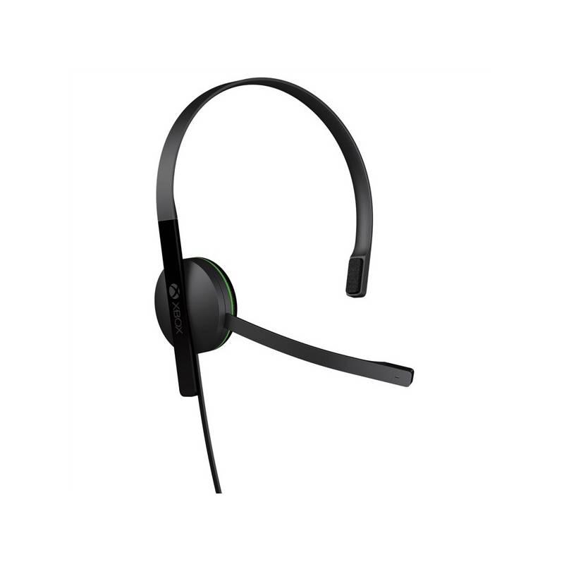 Headset Microsoft Xbox One Chat Headset (S5V-00012) čierny