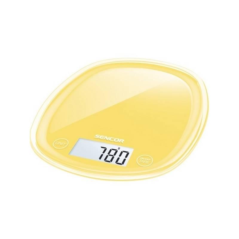 Kuchynská váha Sencor Pastels SKS 36YL žltá