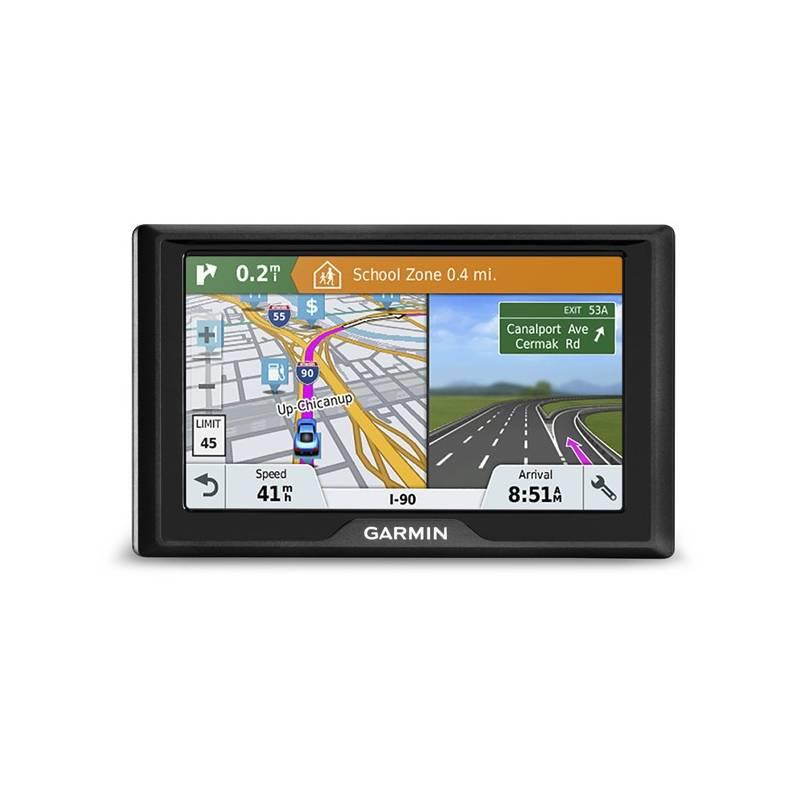 Navigační systém GPS Garmin Drive 51S Lifetime Europe45 (010-01678-17) černá