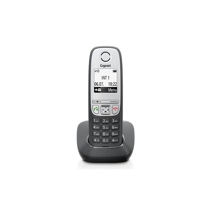 Domáci telefón Siemens Gigaset A415 (S30852-H2505-R601) sivý
