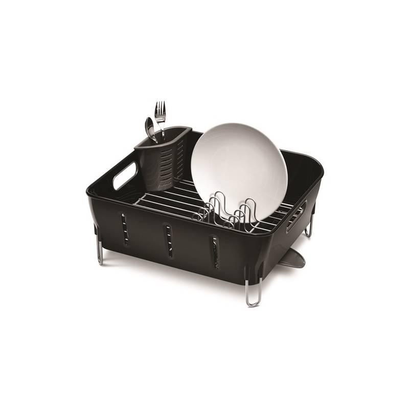 Odkvapkávač Simplehuman Compact (KT1105) čierny/strieborný